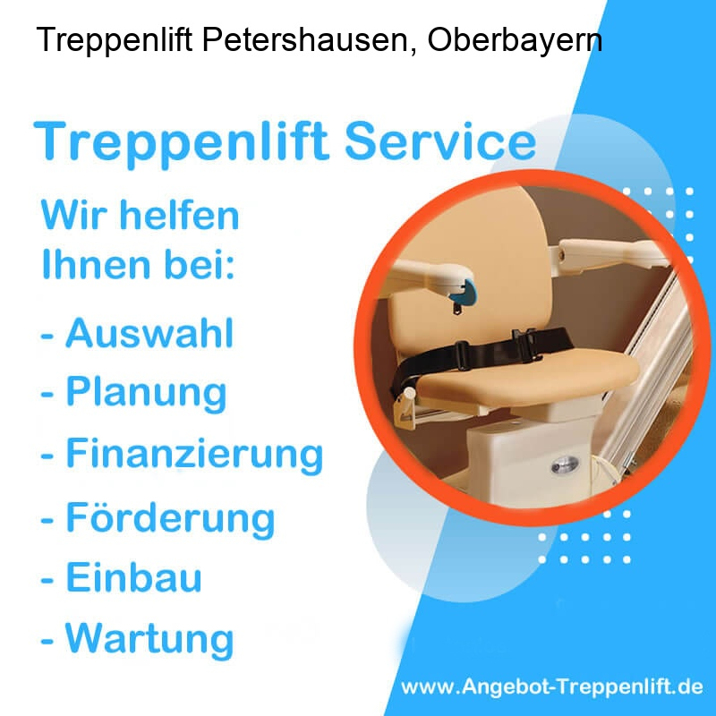 Treppenlift Angebot Petershausen, Oberbayern