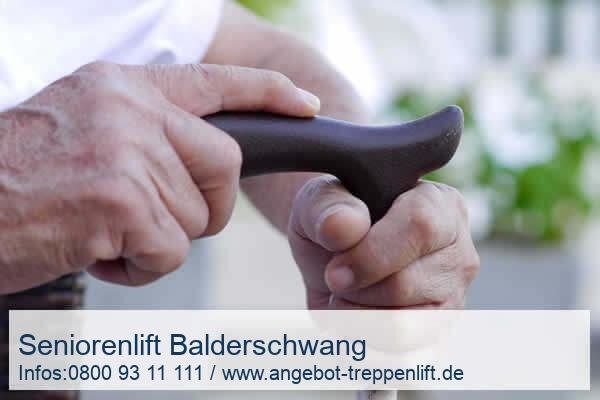 Seniorenlift Balderschwang
