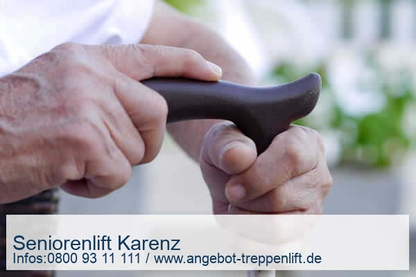 Seniorenlift Karenz
