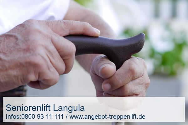 Seniorenlift Langula