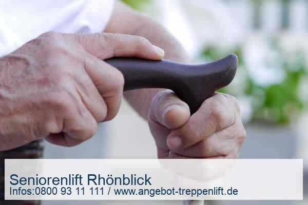 Seniorenlift Rhönblick