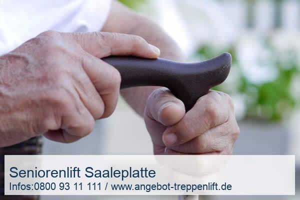 Seniorenlift Saaleplatte