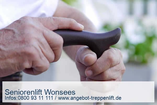 Seniorenlift Wonsees