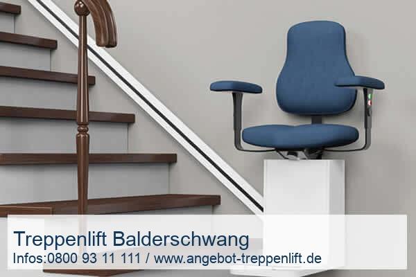 Treppenlift Balderschwang