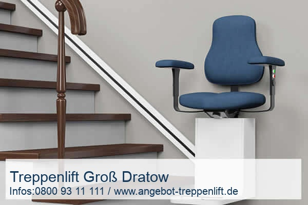 Treppenlift Groß Dratow