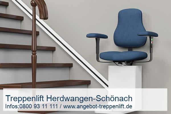 Treppenlift Herdwangen-Schönach