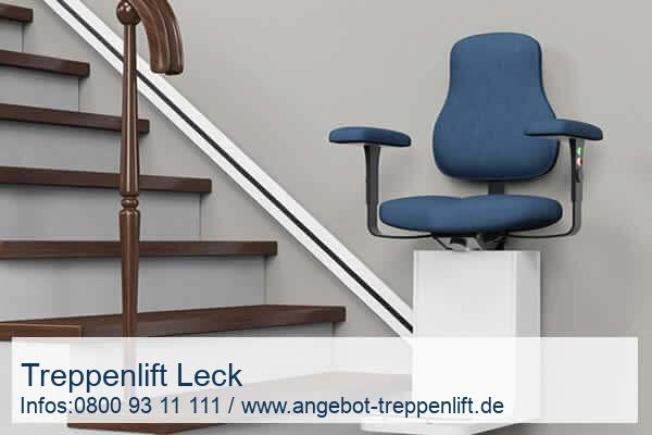 Treppenlift Leck