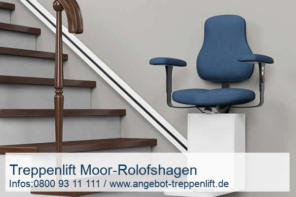 Treppenlift Moor-Rolofshagen