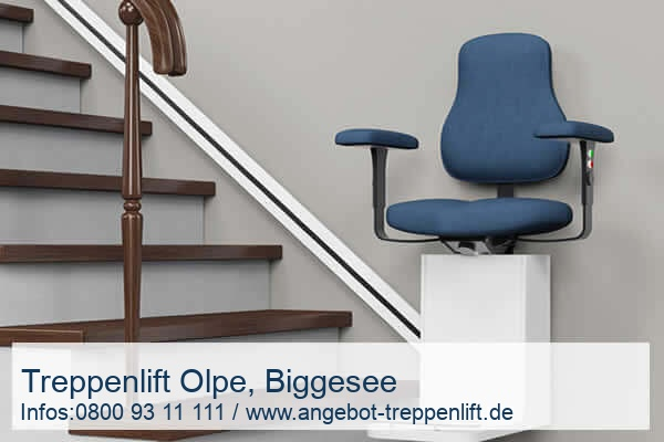 Treppenlift Olpe, Biggesee