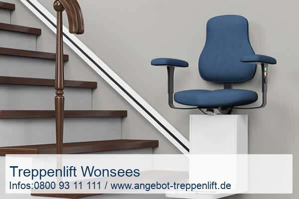 Treppenlift Wonsees